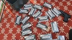 BEST 9MM AMMO?  1000 ROUNDS! (Blazer Ammunition Review)