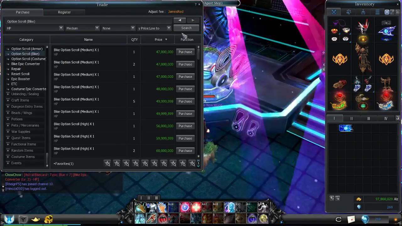 Cabal Online Quick Slots