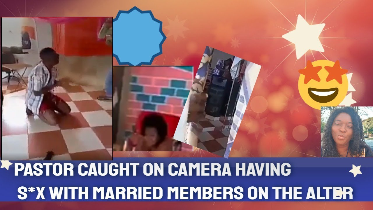 Download Ghanaian Pastor Caught Sleeping With a Married Woman in the alter (Video)