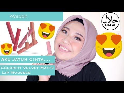 wardah-colorfit-ultra-light-matte-lipstik//swatches-&-review
