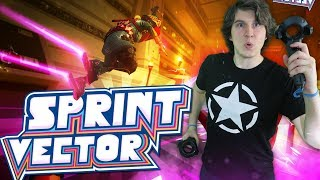 Sprint Vector VR Gameplay (HTC Vive Virtual Reality Parkour Game)