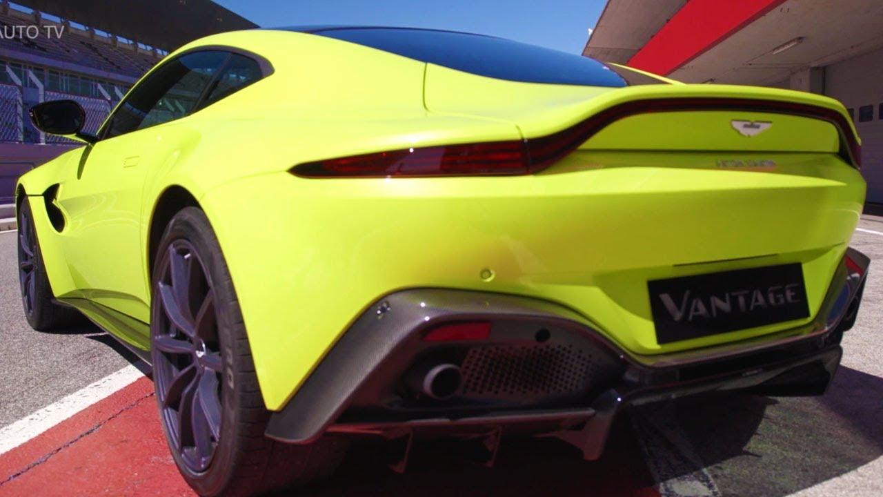 2019 Aston Martin Vantage Lime Essence Full Review Youtube