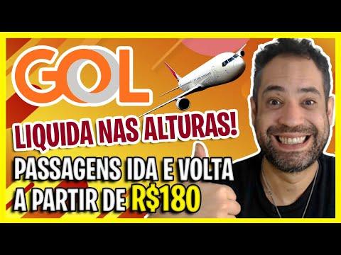 LIQUIDA GOL! PASSAGENS BARATAS DA GOL HOJE! SÓ OS MELHORES PREÇOS ENCONTRADOS!