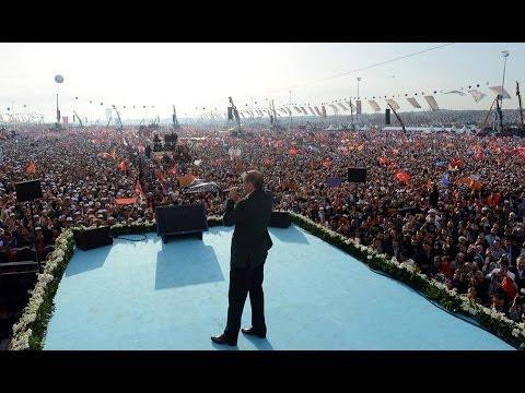 Başbakan Recep Tayyip Erdoğan Ak Parti istanbul Mitingi FULL KALİTE LOGOSUZ 23.03.2014