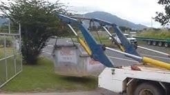 Norhire Delivering a Skip Bin Cairns Qld Australia