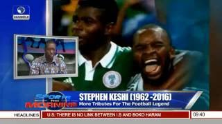 Stephen Keshi: More Tributes For The Football Legend