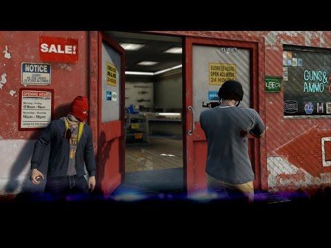 [GTA V: Online] Overval op de Ammu-Nation! met ICE MERCY (GTA5)