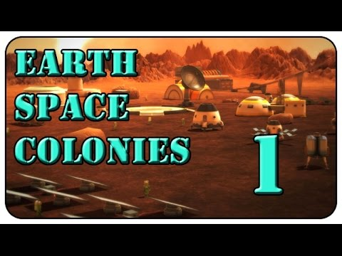 earth space colonies walkthrough