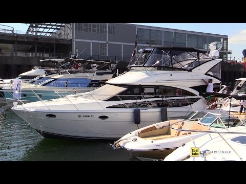 2015 Meridian 391 Motor Yacht - Walkaround - 2015 Montreal In Water Boat Show