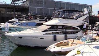 2015 Meridian 391 Motor Yacht - Walkaround - 2015 Montreal In Water Boat Show
