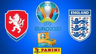 Figu pronostico Euro 2020 Tournament Edition Panini Repubblica Ceca vs Inghilterra