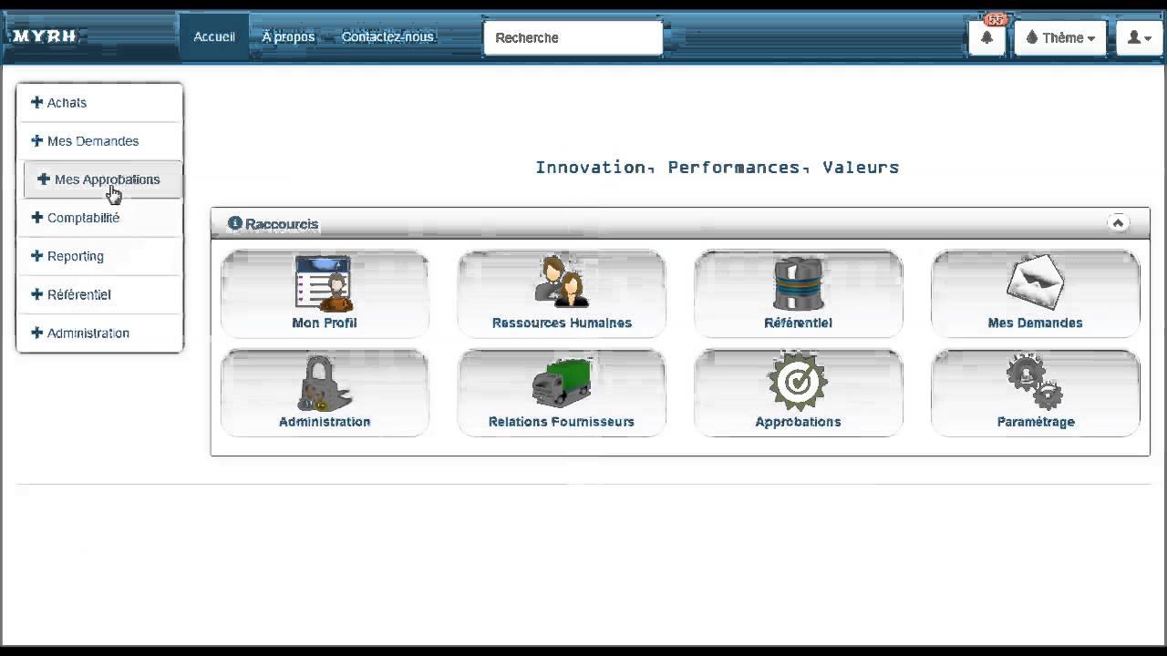 logiciel rh gestion cv