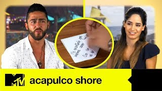 La Carta De Amor De Alexya A Potro   Acapulco Shore 4