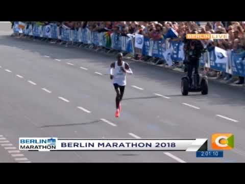 Eliud Kipchoge Breaks Marathon Record at Berlin Marathon