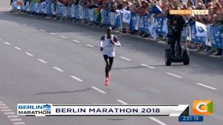 Kipchoge breaks Berlin Men's Marathon record #CitizenWeekend