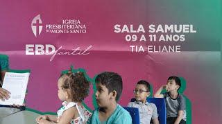 EBD INFANTIL IPMS | 20/12/2020 - Sala Samuel 9 a 11 anos