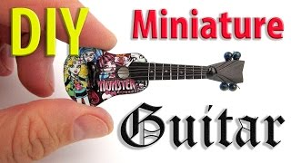 DIY Miniature Guitar