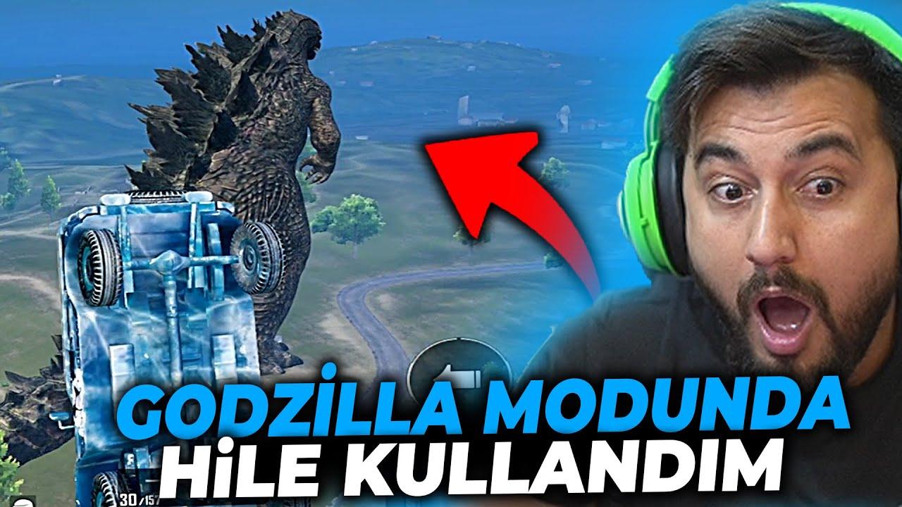 GODZİLLA MODUNDA HİLE KULLANDIM / PUBG MOBILE