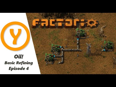 Factorio 1.0 Beginner Guide / Tips / How to! Episode 4! Oil and Blue Science!
