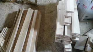 Мебель для спальни. Процесс изготовления. Часть 1(Ссылка о вайме на форум