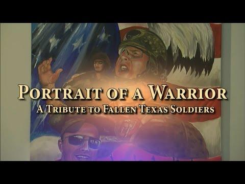 Portrait of a Warrior: Library Art Exhibit of the Paintings of Ken Pridgeon