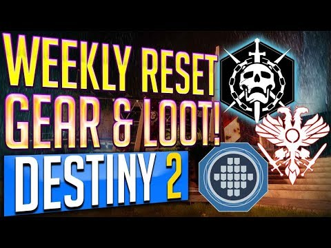 Destiny 2 Weekly Reset 9-12-17 MILESTONES, NIGHTFALL, Flashpoint, Strike Challenges September 12