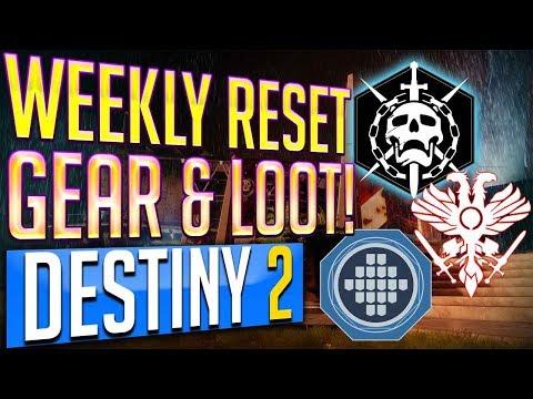 Destiny 2 Weekly Reset 9-12-17 MILESTONES, NIGHTFALL, Flashpoint, Strike Challenges September 12