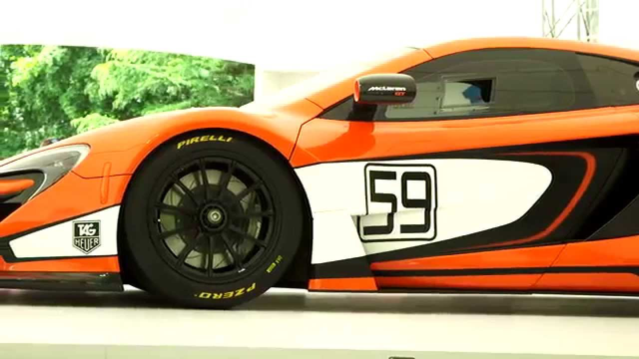 McLaren 650S GT3 - Unveiled at the Goodwood Festival of Speed