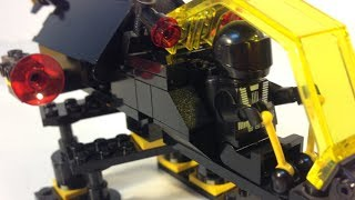 LEGO Blacktron 6876 Alienator - Vintage Space From 1988! Review