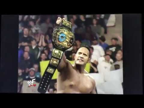 WWF The Rock Entrance Rare theme used once 11/30/98