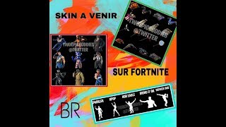 SKINS TO SEE ON FORTNITE BATTLE ROYALE