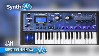 Graziano Guastella / GraianKey Plays Novation Mininova S4K ( space4keys )