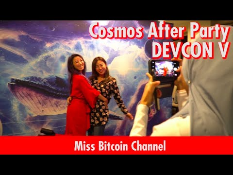 COSMOS after party at DEVCON5