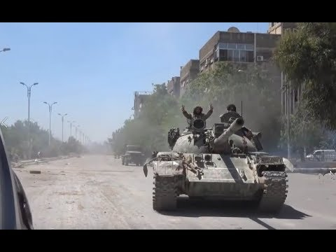 Images and updates from the Syrian Army's anti-ISIS operation in South Damascus| April 23rd 2018
