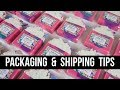My ENTIRE Process - Packaging, Labeling, & Shipping | Royalty Soaps