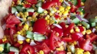 Vegan Recipe! Hot Salsa Salad!
