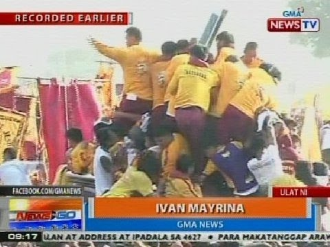 NTG: Ivan Mayrina, inakyat ang andas para sa isang debotong baldado