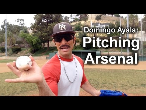Domingo Ayala's Pitching Arsenal