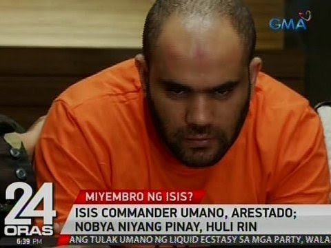 24 Oras: ISIS commander umano, arestado; nobya niyang Pinay, huli rin