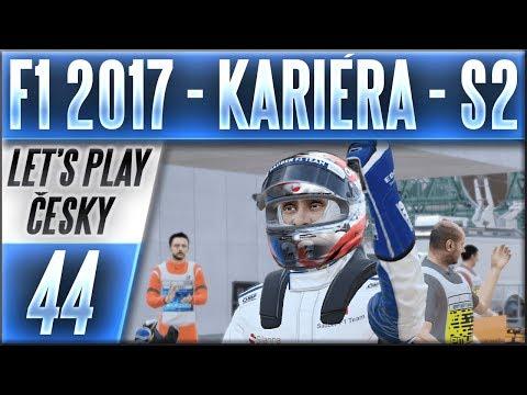 F1 2017 - Kariéra - S2 | #44 | Rekapitulace a Statistiky 2. Sezóny | CZ Let's Play
