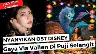 """Gaya Via Vallen Nyanyikan OST Disney Di Sorot """"Princess Ini Mah"""""""