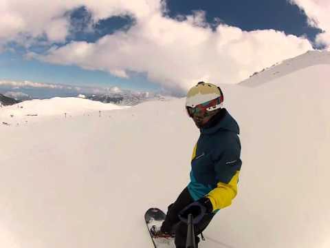 2 Davraz kayak merkezi bol kar keyfi çok iyi abi yaa