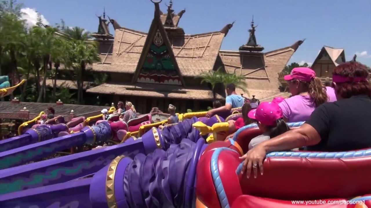 The Magic Carpets Of Aladdin Pov Kingdom Walt Disney World Hd