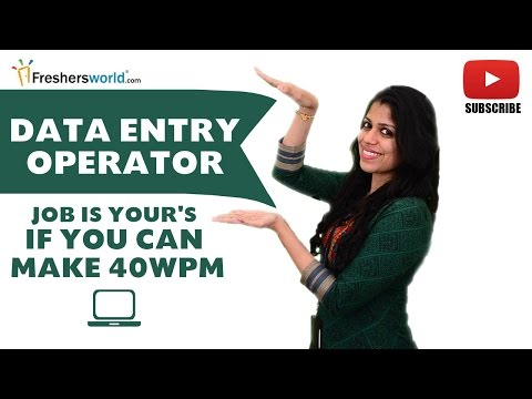 Job Roles For Data Entry Operator Entry Level Database Arts Science Data Management
