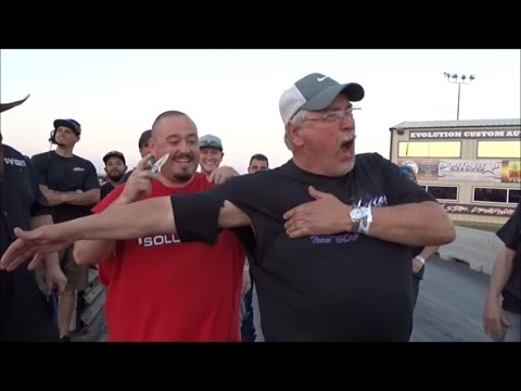 Street Outlaws Derek Silver Unit takes sleeves and $$$$