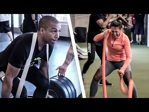 MMA Fight Camp for Strength and Power | Joanna Jedrzejczyk & Edson Barboza