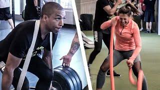MMA Fight Camp for Strength and Power   Joanna Jedrzejczyk & Edson Barboza