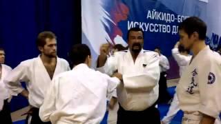 Мастер класс Стивена Сигала 05 12 15 г  Москва