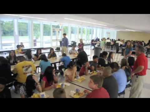 The First Day of School at Morris Innovative High and Eastbrook Middle Schools