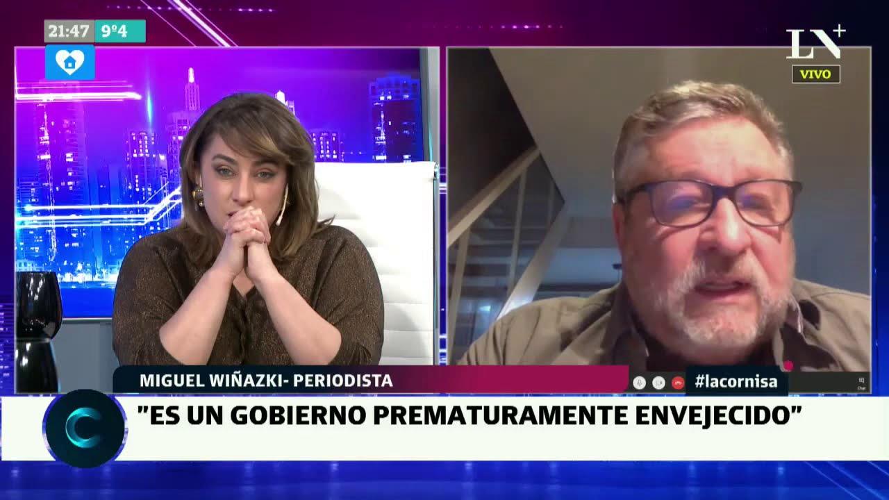 """Miguel Wiñaski: """"Lo que une a Alberto Fernández con Cristina Kirchner es la debilidad"""" - La Cornisa"""